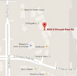 Pima Family Chiropractic Map